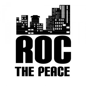 ROC THE PEACE Logo (Draft #1)